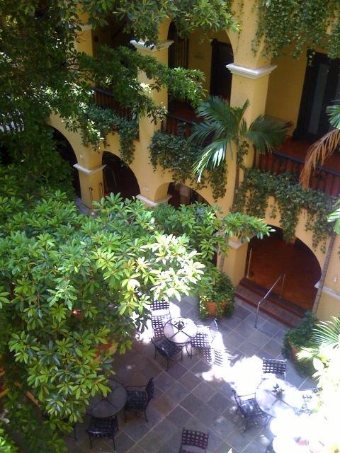 Our hotel, El Convento